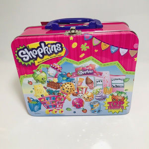Shopkins Lunch Box (Metal) and Shopkins Game